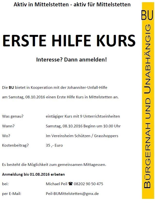 BU_erste Hilfe Kurs_08.10.2016